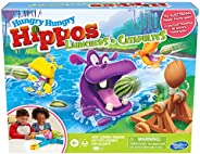 Hungry Hungry Hippos Launchers Game for Kids Ages 4 and Up, Electronic Pre-School Game for 2-4 Players