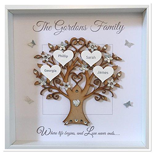 Wedding gifts personalised handmade christmas