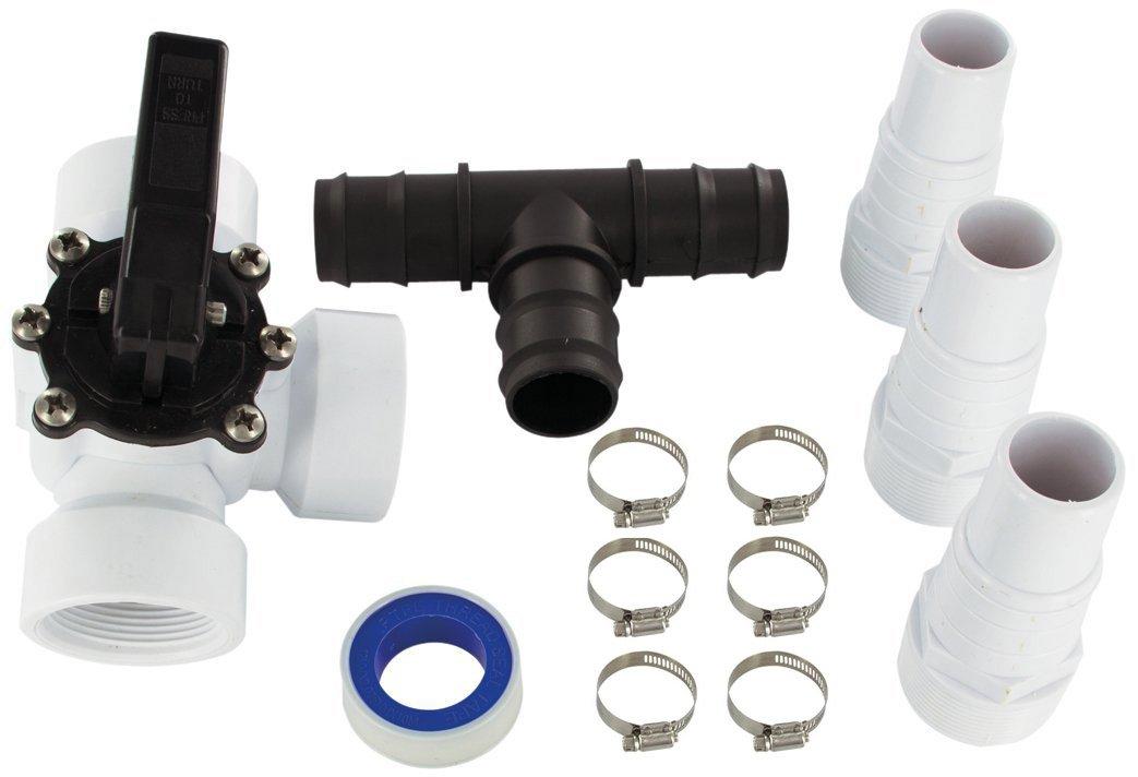 Miganeo Premium Bypass Set–Adaptador para climatizador de piscinan–Válvula de Conmutación 060045GH Miganeo®
