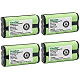 Kastar Cordless Battery (4 Pack), Ni-MH 2.4V 1600mAh, Replacement for AT&T 2455 2440 2430 2402 2401 2400 Cordless Telephone Battery and Panasonic HHR-P546A, TYPE 23