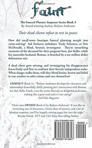faint the funeral planner suspense series volume 3 rolynn