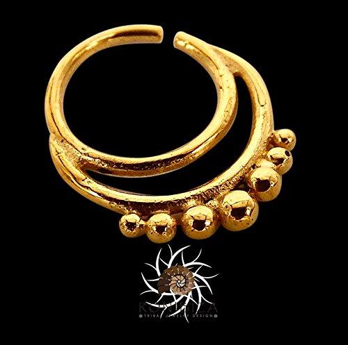 Amazon Com Gold Septum Ring Septum Jewelry Septum Piercing