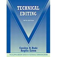 Technical Editing (5th Edition) (The Allyn & Bacon Seriesin Technical Communication)