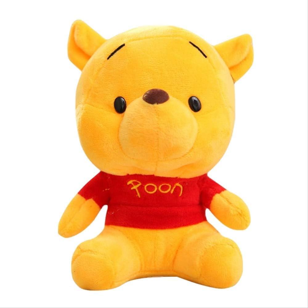 FCS Peluche Winnie The Pooh 10cm Peluches Peluches Juguetes con Llavero Colgante Lindo Anime Muñeca De Dibujos Animados para Niños Regalo