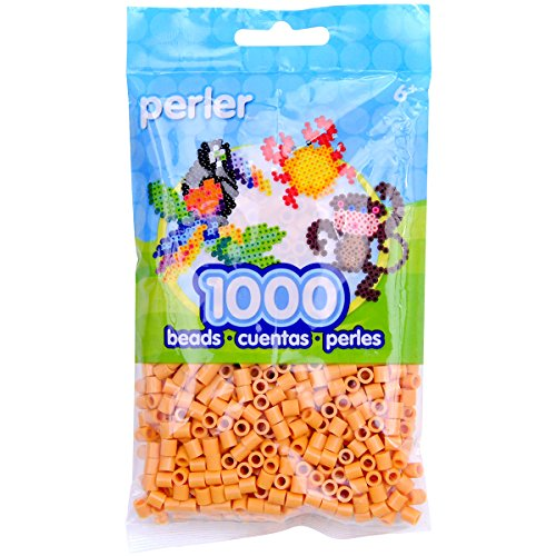 Perler Beads Fuse Beads for Crafts, 1000pcs, Butterscotch Orange