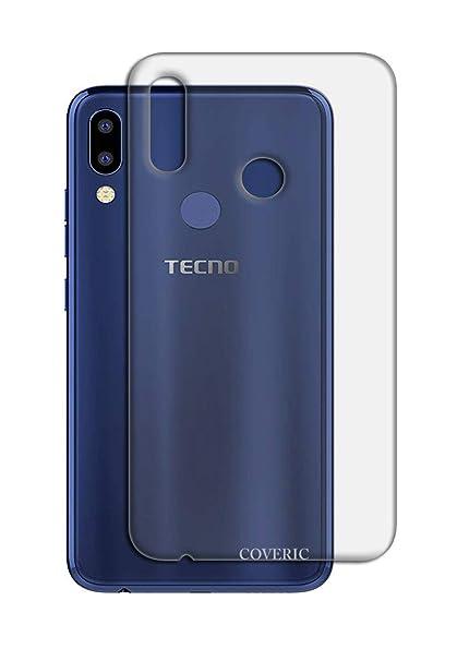 super popular 6c281 88565 Coveric Transparent Case for Tecno Camon i2 Back Cover: Amazon.in ...