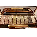Image of QzoneFire Make up Glitter Eyeshadow Palette 9 Colors Cosmetics Eye Shadow Pallete (# 6)
