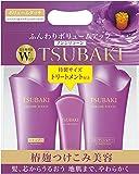 TSUBAKI JAPAN TSUBAKI volume touch Shampoo & Conditioner Jumbo pair set treatment with mini size (500ml + 500ml + 100g)