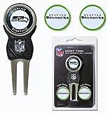 NFL Marker Signature Divot Tool - Pack of 3 NFL Team: Seattle Seahawks