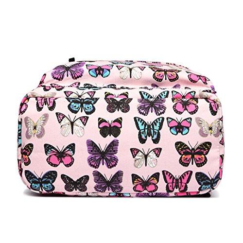 Pink Miss Zaino Butterfly Lulu Casual wwIq8Av