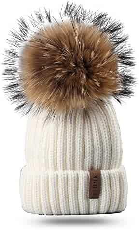 Holiberty Kids Cartoon Faux Fur Trapper Hat Boy Girl Windproof Mask Earflap Ski Winter Cap
