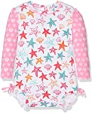 Hatley Baby Girls' Rash Guard, Star Fish, 6-9M