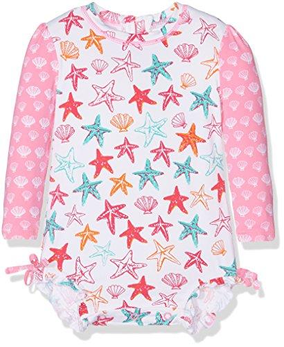 Hatley Baby Girls' Rash Guard, Star Fish, 12-18M by Hatley