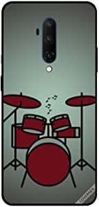 For OnePlus 7T Pro Case Cover Drums