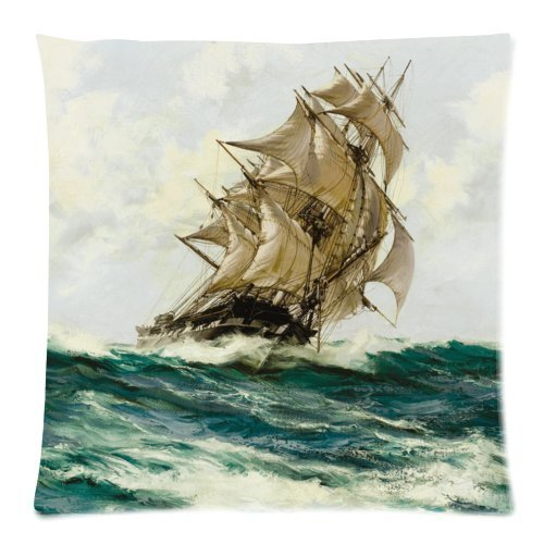 Amazon.com: clásico Náutico clásico Vela Barco Pirata Tema ...