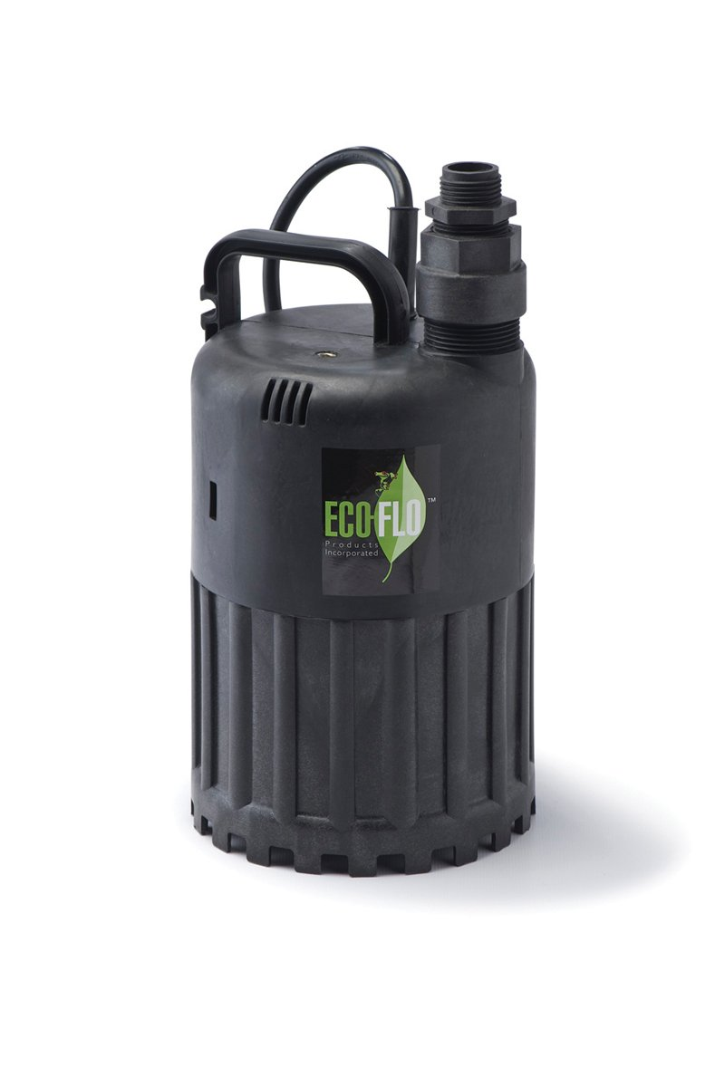 ECO-FLO Products SUP56 Manual Submersible Utility Pump, 1/3 HP, 2,880 GPH by ECO-FLO PRODUCTS INCORPORATED