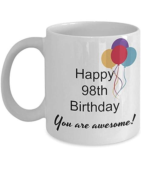 Taza De Porcelana,98.Os Regalos De Cumpleaños:Feliz ...