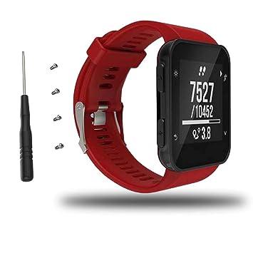 Correa de reloj para Garmin Forerunner 35 Watch, Bemodst Accesorios de repuesto Correa de silicona