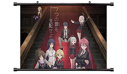 Trinity Seven Anime Wall Scroll Poster  Inches