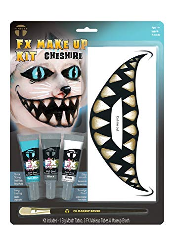 Tinsley Transfers Cheshire Cat Makeup Big Mouth Kit Standard ()