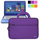 HP Stream 11 UltraPortable Handle Carrying Portfolio Neoprene Sleeve Case Bag