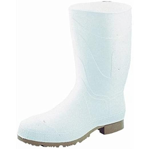 74928-11 PVC Safety Boot Size 11-white