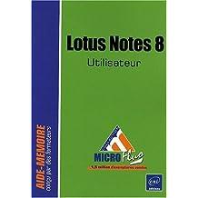 Lotus notes 8