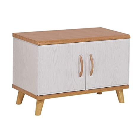 Fine Amazon Com Mscxj Hallway Storage Bench 2 Tier Wood Storage Theyellowbook Wood Chair Design Ideas Theyellowbookinfo