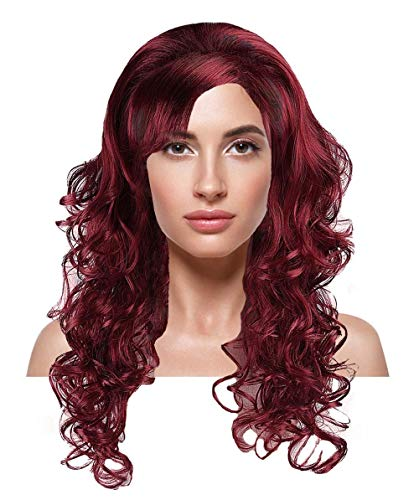 Adult Silver Screen Sensation Costumes - Silver Screen Sensation Red Adult Wig