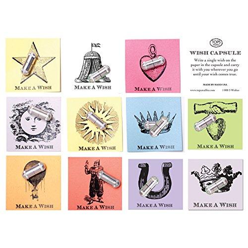 - TOPS Malibu Wish Capsules Vintage Letterpress Image