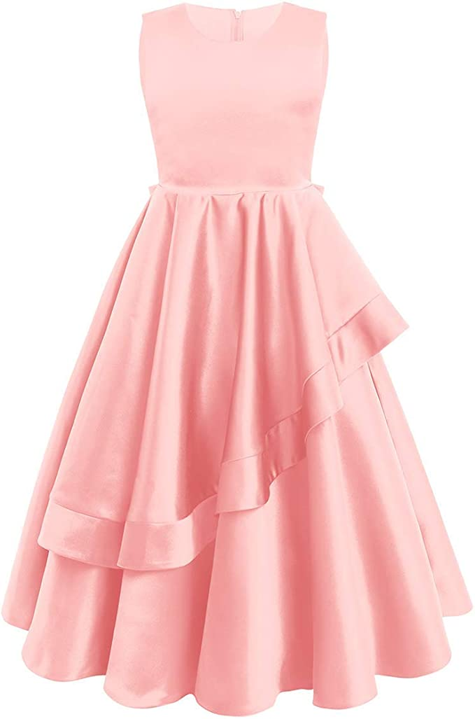 Flower Girl Princess Dress Baby Party Wedding Pageant Formal Dresses Clothes LOT