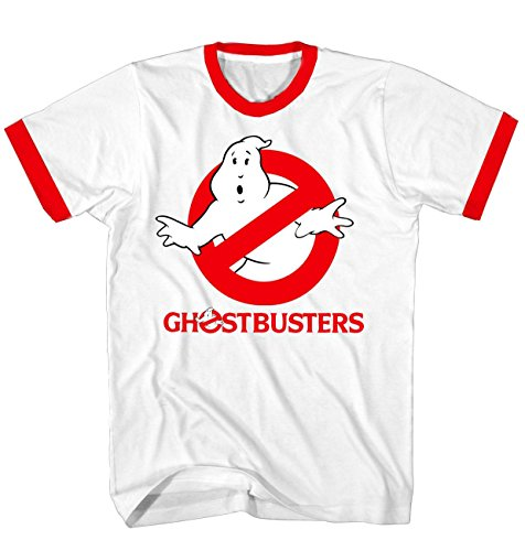 Shirt T Ghostbusters (Ghostbusters Original Logo White T-shirt (Adult)