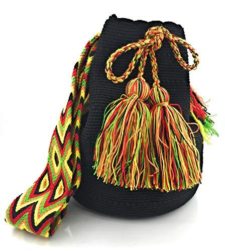 COLOMBIAN STYLE Bolsos Colombianos Artesanales, mochilas Wayuu, tanto para mujer como para hombre.: Amazon.es: Equipaje