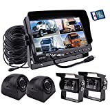 quad camera - Camnex Car Backup Camera System 9