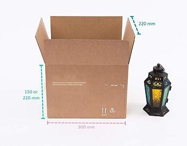 Pack > Enviar > Mover PSM1B caja de cartón pequeña variable de altura fuerte (paquete