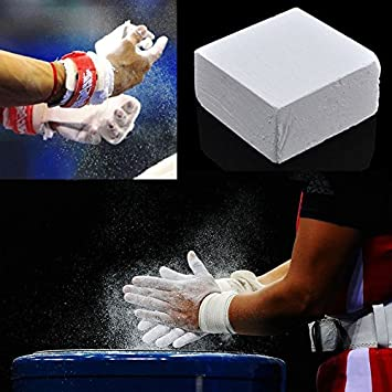 WLGREATSP Gym Chalk Carbonato de magnesio para Deportes de Gimnasia, Polvo Deportivo Entrenamiento de Levantamiento de Pesas Escalada Magnesium Carbonate Chalk: Amazon.es: Hogar