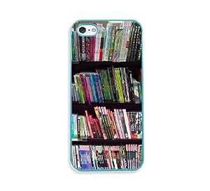 Geek Bookshelf Aqua Silicon Bumper iPhone 5 & 5S Case - Fits iPhone 5 & 5S