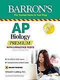AP Biology Premium: With 5 Practice Tests (Barron's Test Prep): more info
