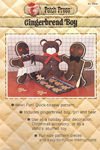 Gingerbread Boy (Patch Press No. 330a) ()