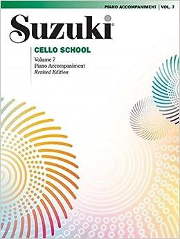 Suzuki Cello School, Vol 7: Piano Acc.