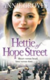 Front cover for the book Hettie of Hope Street by Annie Groves