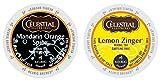 Celestial Seasonings - Mandarin Orange Spice & Lemon Zinger K-cup Combo Pack for Keurig 2.0 - 48 Count/24 Per Box
