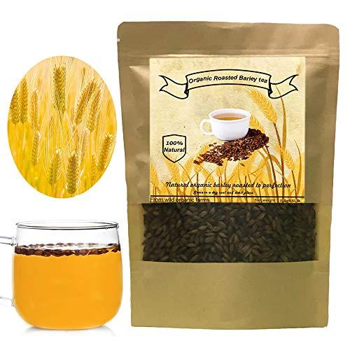 Organic Barley Tea, Roasted Barley, Caffeine Free, Acid Free, Sugar Free (250g/0.55 Ib)
