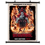 Deadpool Movie Fabric Wall Scroll Poster (32x46) Inches
