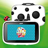 GHIA Beetle Android Kids Tablet, 7 Inch Quad Core Tablet for Kids with WiFi, Android 8.1 Oreo Google Certified OS, Preinstalled Iwawa App, Long Life Battery, 1GB+16GB, 1024x600 HD Panel. (White)