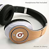 New: Beats Studio 100% Real Wood Luxury Skin for Your Beats - For Girls & Guys - Latest Stylish Design - Protect Your Investment - Made in America - Quality Guaranteed - Beats Studio Cherry