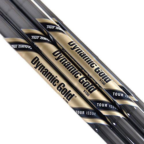 New Dynamic Gold Tour Issue Steel Iron Shaft Set 3-PW X100 by True Temper