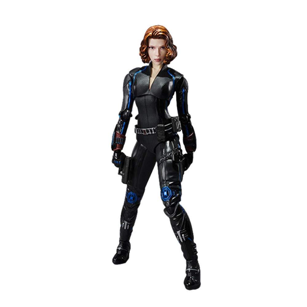 Byx- Neue Heiße 15 cm schwarz Widow Super Hero Avengers Bewegliche Action Figure Spielzeug Sammlung Box @