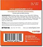 Bytox - The Hangover Patch 5 Pack - 12 Organic All-Natural Ingredients with Vitamins Nutrients and Antioxidants Discount