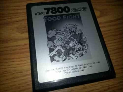 Food Fight for Atari 7800